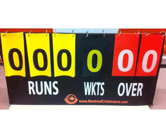 Picture of Portable Scoreboard