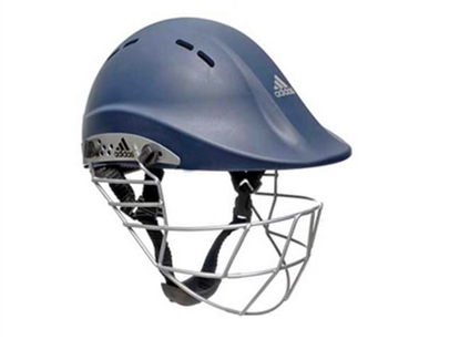 Picture of adiPower Premiertek Helmet - Navy - Steel Visor