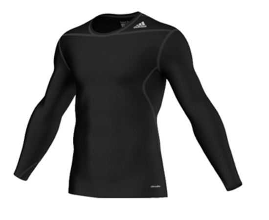 Picture of adidas Techfit Seamless L/S Tee Black