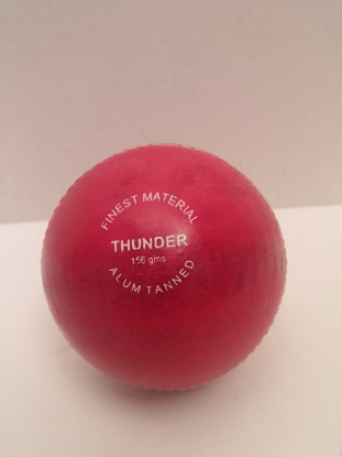 Image de SAS Cricket Ball Thunder Red