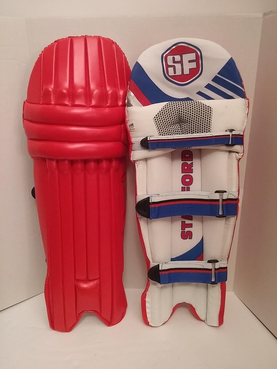 Picture of SF Batting leg-guard Clublite - Red - AMBI