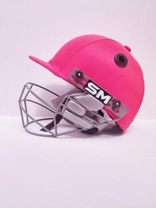 Picture of SM Cricket Helmet COLLIDE - RED