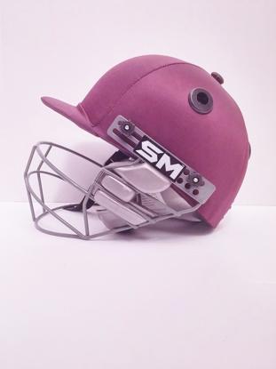 Image de SM Cricket Helmet COLLIDE - MAROON