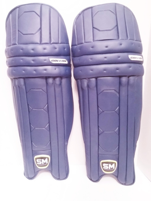 Image de SM Batting Legguard COLLIDE Navy Blue - RH only