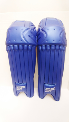 Picture of SF Batting Legguard Ranji (ambi) ROYAL BLUE - Dual Wing