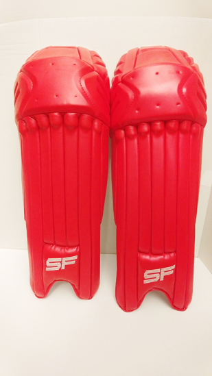 Picture of SF Batting Legguard Ranji (ambi) RED - Dual Wing