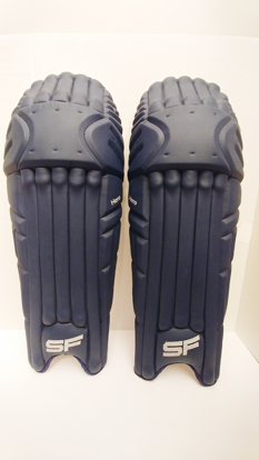 Image de SF Batting Legguard Hero (ambi) NAVY BLUE - Dual Wing