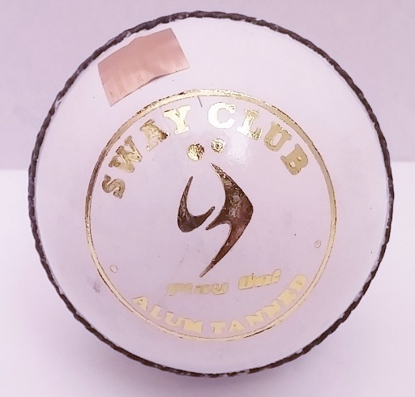 Picture of SM Cricket Ball Sway White