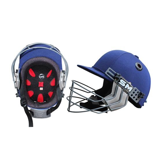Picture of SM Cricket Helmet COLLIDE - Navy Blue