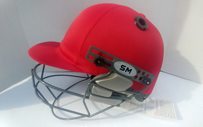 Image de SM Cricket Helmet VIGOUR - RED