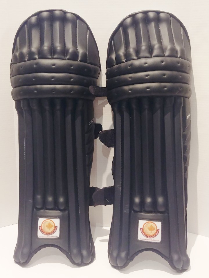 Picture of WKT Batting leg-guard CLUBLITE - BLACK