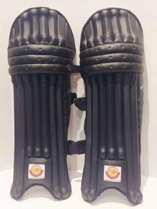 Picture of WKT Batting leg-guard CLUBLITE - BLACK