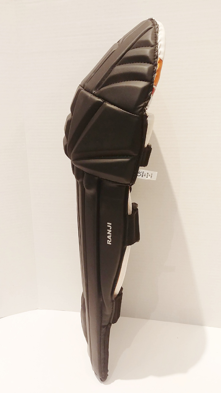 Picture of WKT Batting Legguard Ranji (ambi) BLACK - Dual Wing