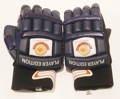 Image de WKT Batting Gloves Player Edition NAVY BLUE MRH