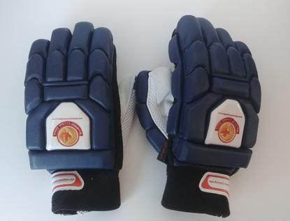 Image de WKT Batting Gloves Triumph Navy Blue - RH Only