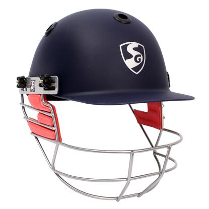 Image de SG Cricket Helmet OPTIPRO - Navy