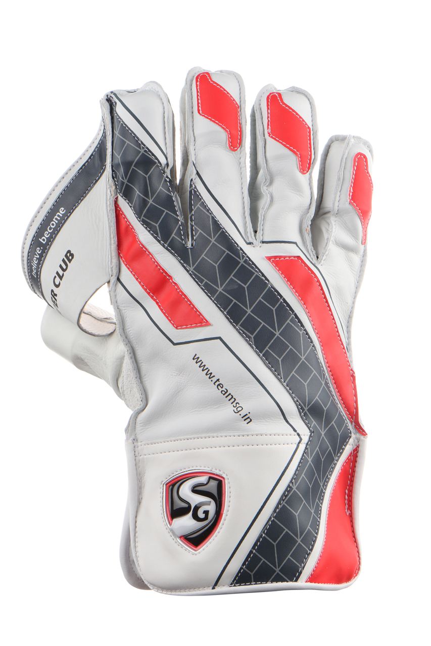 Picture of SG Super Club Wicket Keeping Gloves